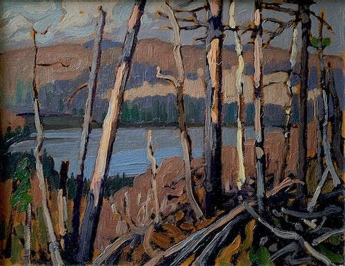 Hidden Lake, Algonquin Park c. 1916