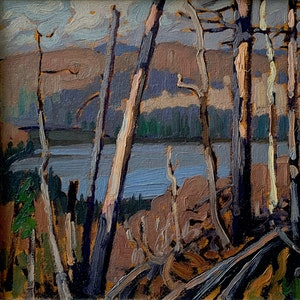 Hidden Lake, Algonquin Park c. 1916