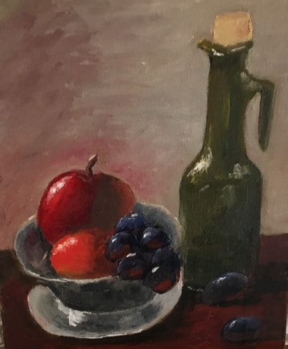 Fruit & Oil Jug