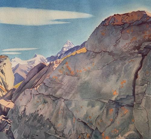 Quartz Ridge Near Sunshine 1947
