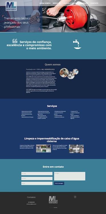 Site ML Hidráulica