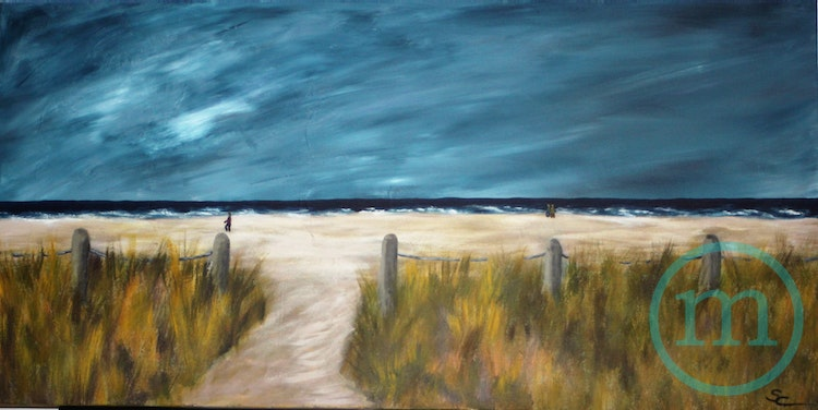 Dreaming of the Beach 24 x 18