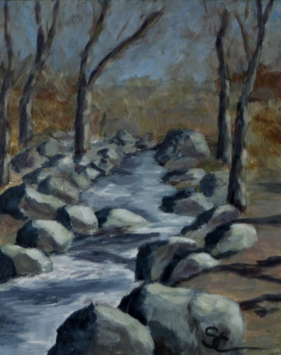 Boulder Creek in the Winter