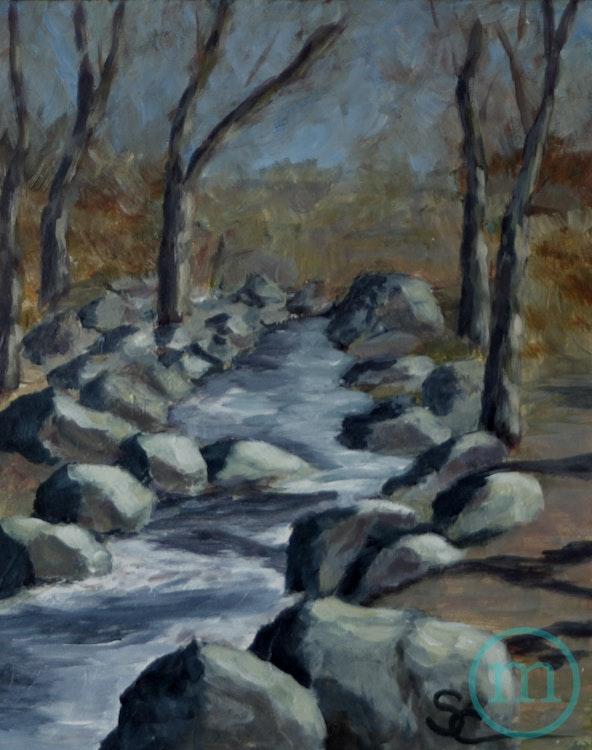 Boulder Creek in the Winter