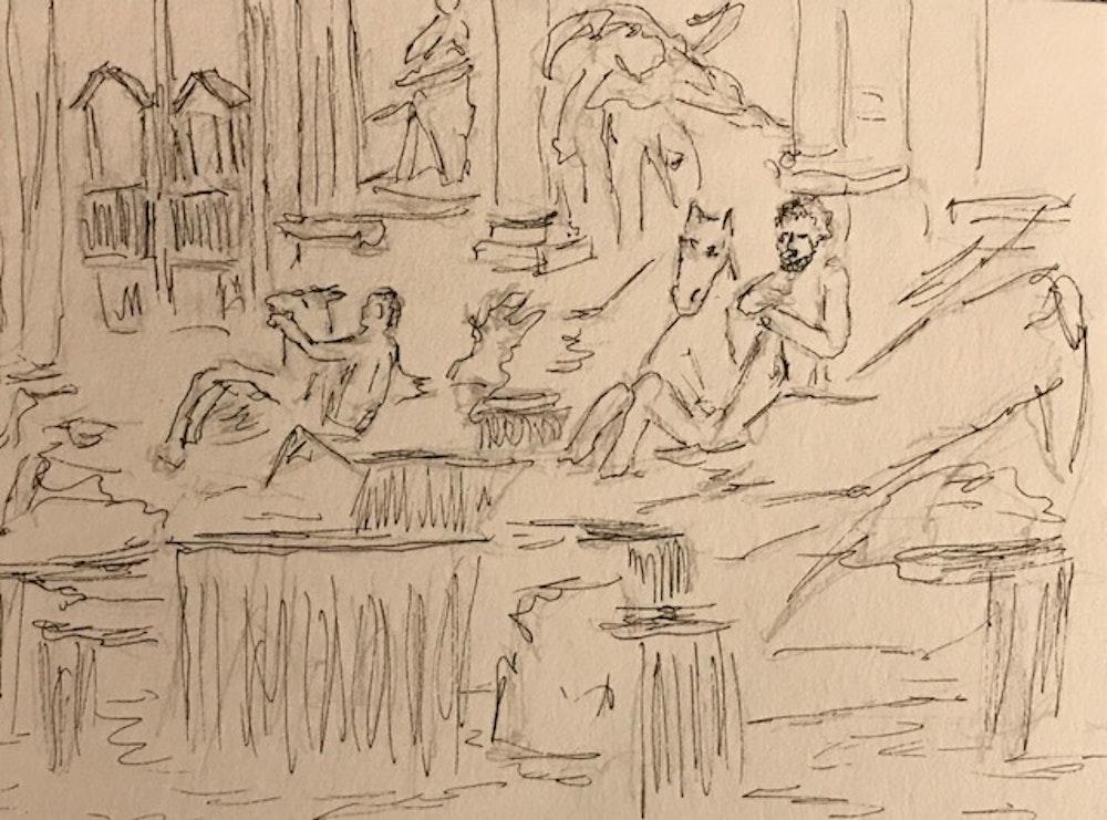 Trevi Fountain #2 Rome Italy
