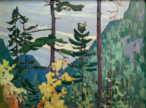 Yellow Birches, Algoma 1919