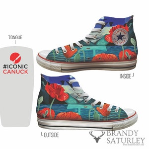 Custom Converse by Brandy Saturley