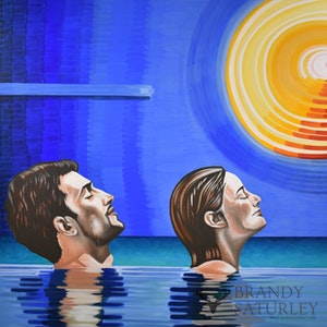 Here Comes the Sun (heads above water)