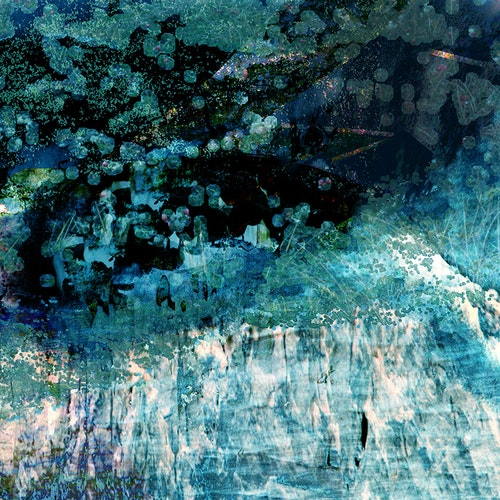 Waterfall Underbrush, Var.1 - Green
