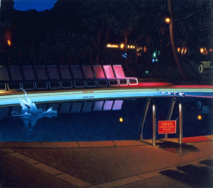 Splash At Night