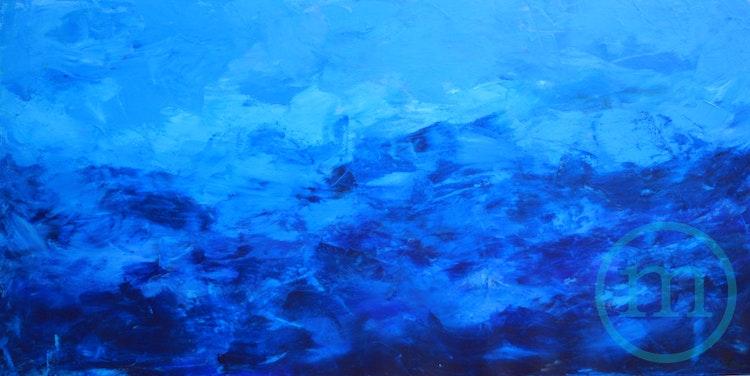 Stormy Seas 24 x 48 x 1 Sold