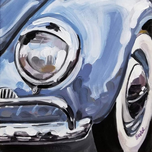 VW '59 Fjord Blue