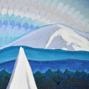Mt. Baker View - Blue