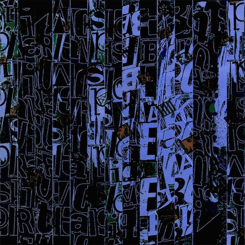 Graffiti Alphabet Blue