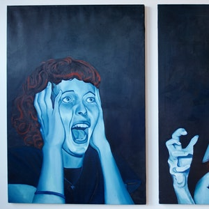 Devotion May Cause Side Effects (right, diptych)