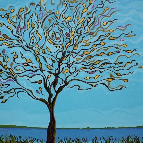 Tree at Lake Ontario