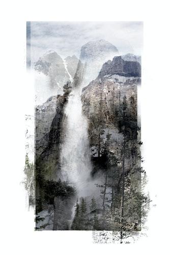 Immortal Landscape (Waterfall)
