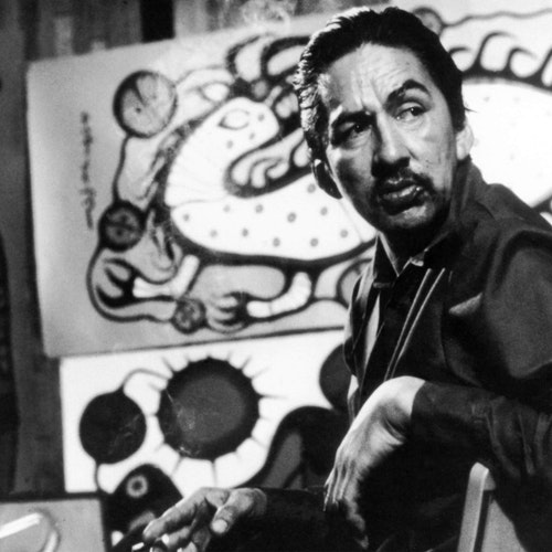 Photo of the artist Norval Morrisseau