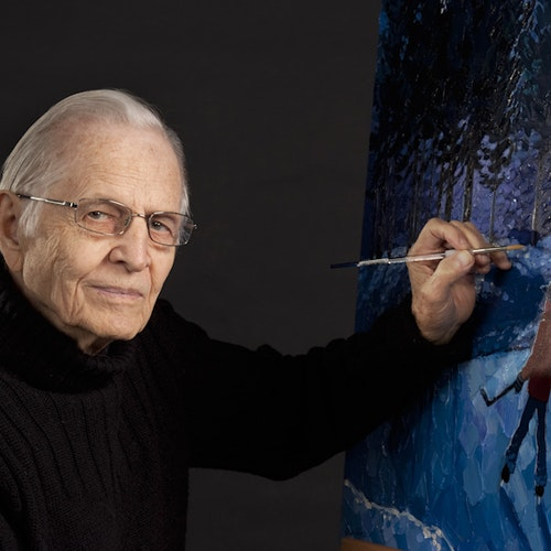 Photo of the artist Bill Brownridge