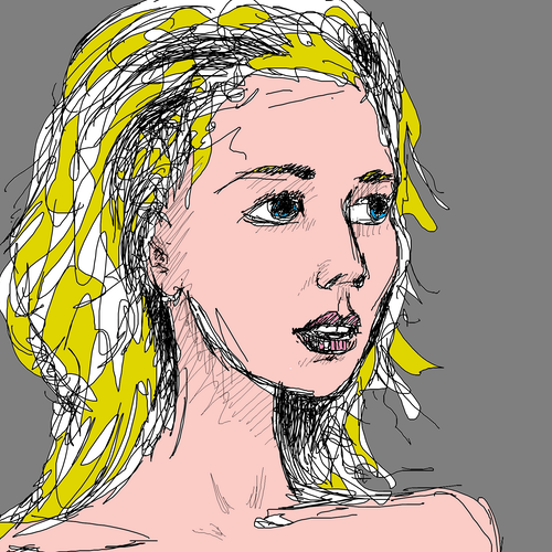 Girl with Golden Hair
