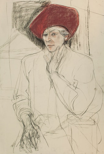 Study for the Portrait of Alice Wingwall