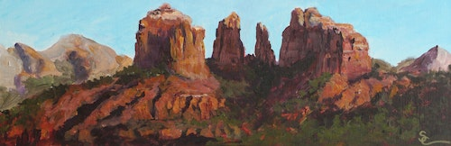Majestic Cathedral Rock 6 x 18