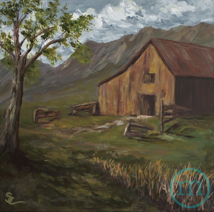 Barn with a Presence 12 x 12