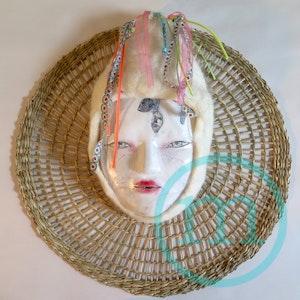 Kaze onna, le masque des vents colorés - Kaze onna, the mask of colorful winds