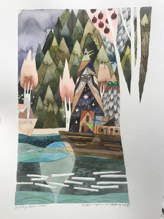 Mossy Narrows by Meghan Hildebrand