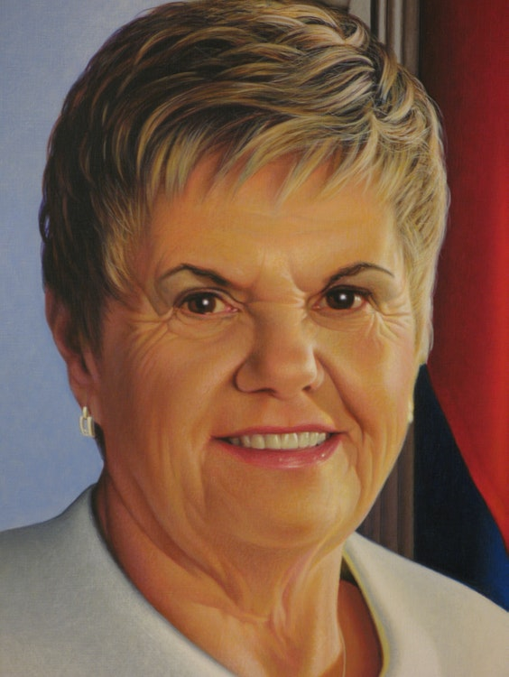 Speaker of the House Louise Dacquay (Detail)